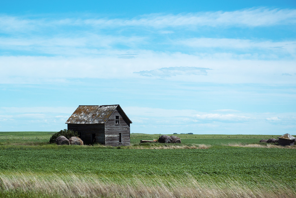 Old Homestead in Southern Alberta