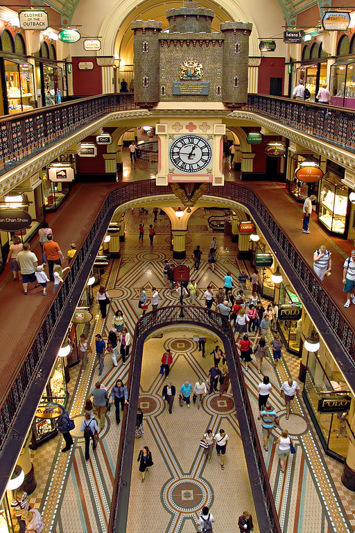 4+ Floors of Shopping in the QVB, Sydney