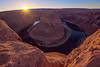 Day's Final Rays on Horseshoe Bend